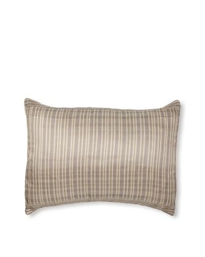 Belle Epoque Sand Grains Sandy Pillow, Cream/Grey, 12x16