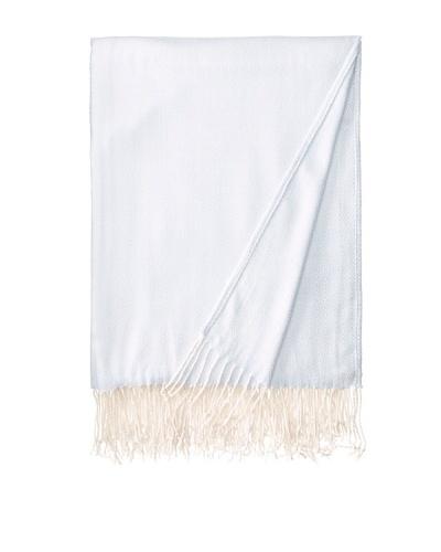 Belle Epoque Diamond Cashmere Touch Throw, Blue, 50 x 70