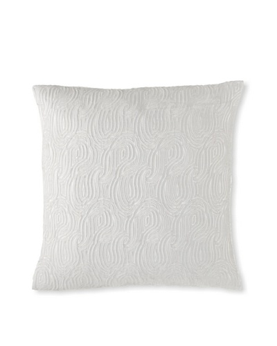 "Belle Epoque Eternal Decorative Pillow, Grey/Foam, 20"" x 20"""