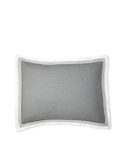 Belle Epoque Horizon Sham [White/Grey]