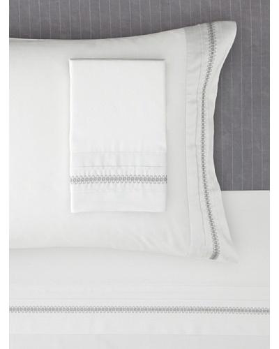 Belle Epoque Eternal Sheet Set [White/Grey]