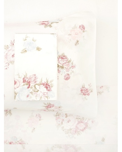 Belle Epoque Rose-Print Sheet Set