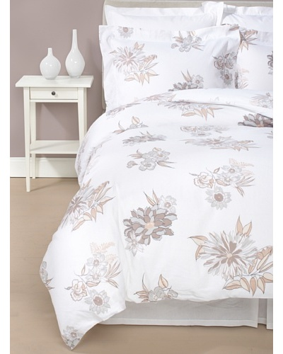 Belle Epoque Linen Flower Duvet Cover Set