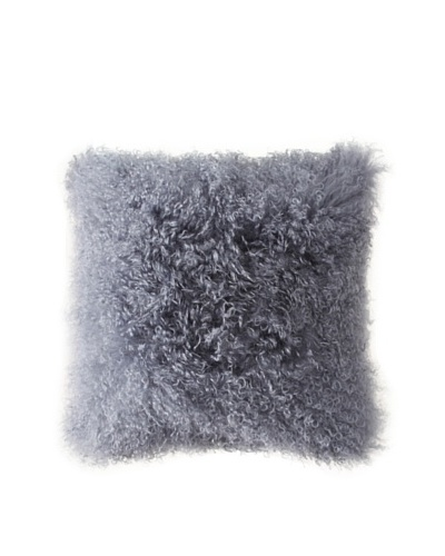 Belle Epoque Mongolian Lamb Throw Pillow