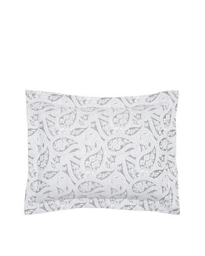 Belle Epoque Kashmir Paisley Pillow Sham [Black/White]