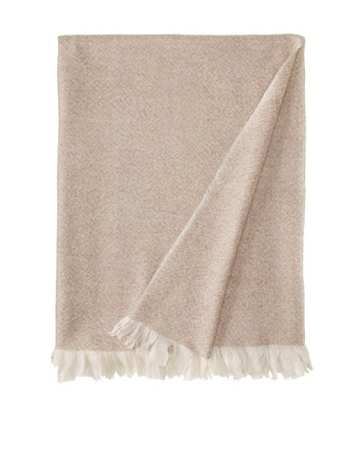 Belle Epoque Heathered Cashmere Throw