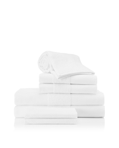 Beltrami Madison 7-Piece Bath Towel Set, White