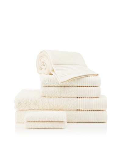 Beltrami Endrigo 7-Piece Bath Towel Set, Ivory