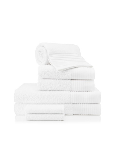 Beltrami Endrigo 7-Piece Bath Towel Set, White