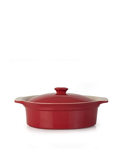 BergHOFF Oval Covered Baking Dish, Red, 3.25-Qt.