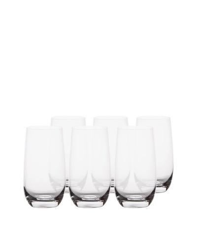 BergHOFF Set of 6 Chateau 16.5-Oz. Hi-Ball Glasses