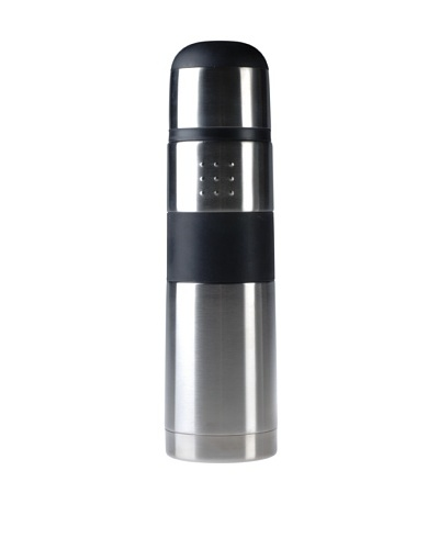 BergHOFF Orion Stainless Steel Thermos, Silver/Black, .8-Qt