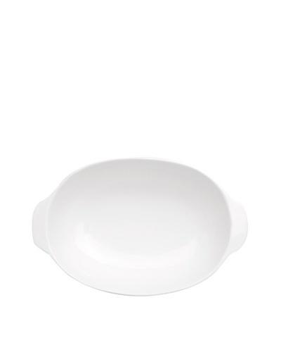 "BergHOFF Bianco Oval Baking Dish, 8.75'' x 14"""