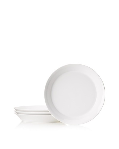 BergHOFF Set of 4 Concavo 11 Pasta Plates, White