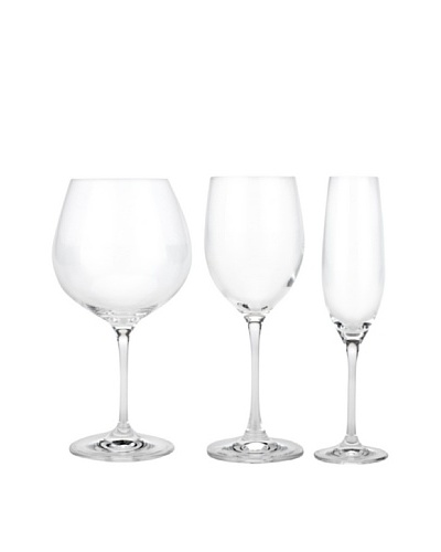 BergHOFF 12-Piece Bistro Wine Set, Clear