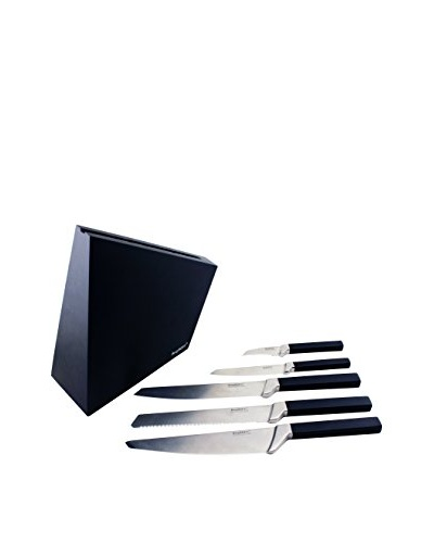 BergHOFF Cubo 6-Piece Forged Knife Block
