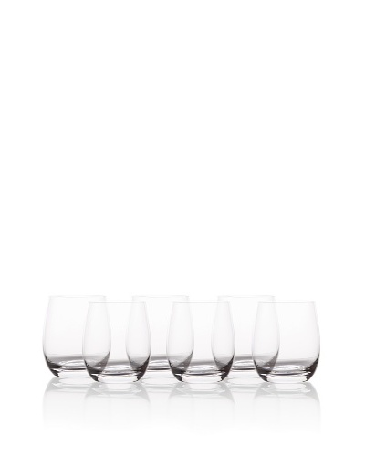 BergHOFF Set of 6 Chateau Whisky Glasses, 360ml, Crystal ClearAs You See