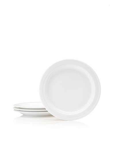 BergHOFF Set Of 4 Hotel Line Bread Plates, White, 7''