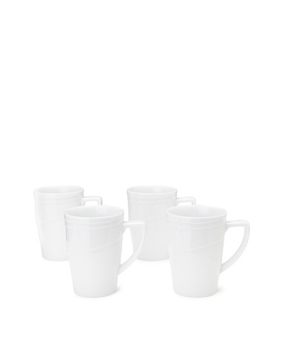 BergHOFF Set of 4 Hotel Line Coffee Mugs
