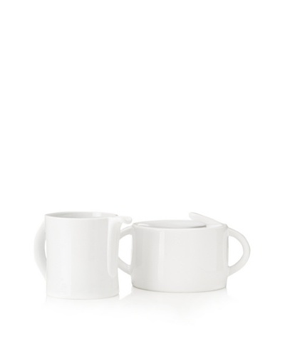 BergHOFF Concavo Sugar and Creamer Set, White