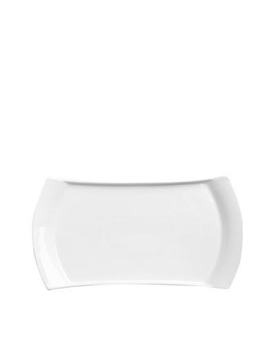 BergHOFF Concavo Rectangular Dish, White, 7.25 x 13.5