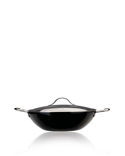BergHOFF Boreal II 14'' Aluminum Wok, Black