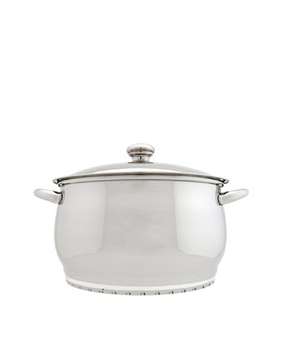 "BergHOFF Cosmo 7-Qt. Covered Stock Pot, Silver, 10""As You See"