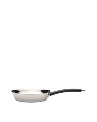 BergHOFF Designo Stainless Steel Frying Pan, Silver/Black, 2-Qt.