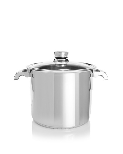 Invico Vitrum Covered Stock Pot, 15.5-Qt.