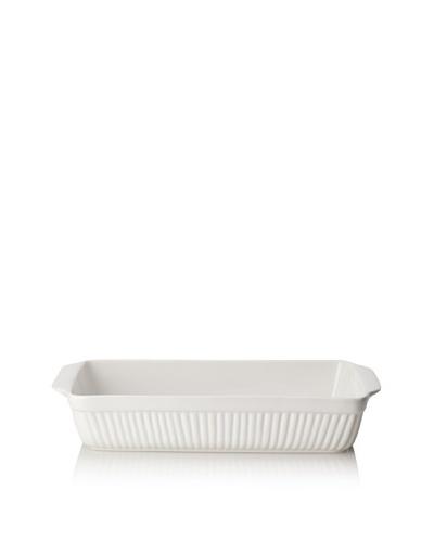 """BergHOFF Hotel Line Bianco Rectangular Baking Dish, White, 9"""" x 14"""""""