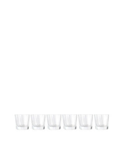 BergHOFF Set of 6 Club Highball Whiskey Glasses, Clear, 11.25-Oz.