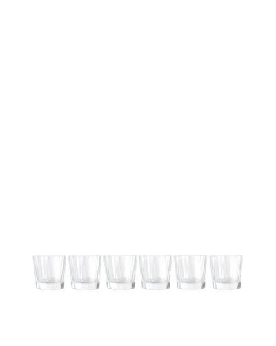 BergHOFF Set of 6 Club Highball Whiskey Glasses, Clear, 335ml  - 11.3oz