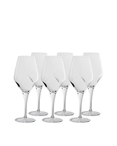 BergHOFF Set of 6 Casa 22.6-Oz. Burgundy Glasses