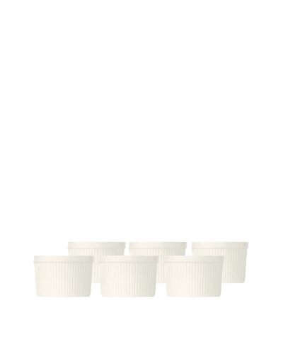 BergHOFF Set of 6 Bianco Ramekins 9 * 4.5cm, Set of 6