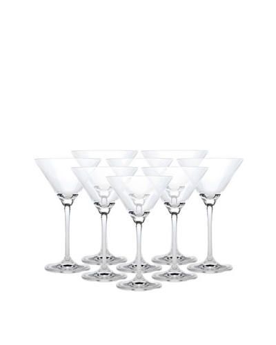 BergHOFF Set of 8 Bistro Martini Glasses, 7-Oz.