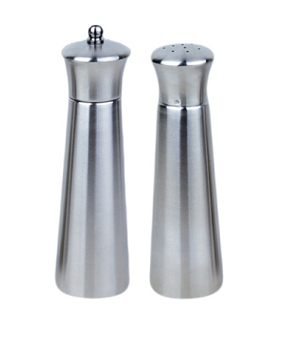 BergHOFF Pyramid 2-Piece Salt & Pepper Set, Silver