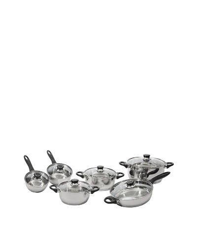 BergHOFF 12-Piece Ostend Stainless Steel Cookware Set