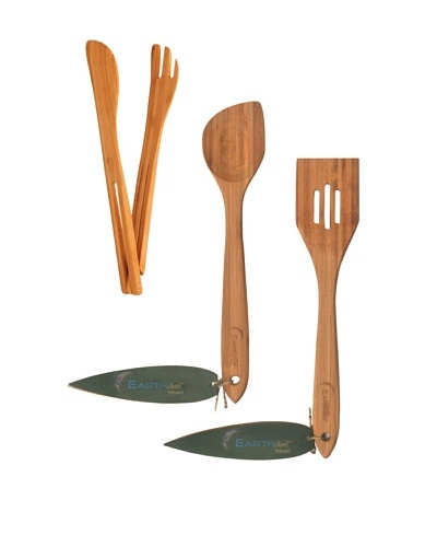 BergHOFF 3-Piece Bamboo Serving Set, Natural