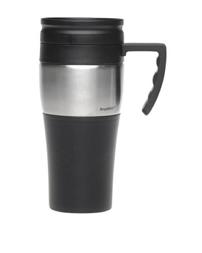 BergHOFF Set of 4 Handled Travel Mugs, BlackAs You See