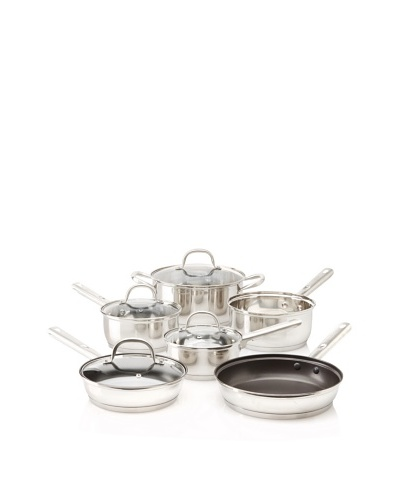 BergHOFF 10-Piece Dorato Stainless Steel Cookware Set