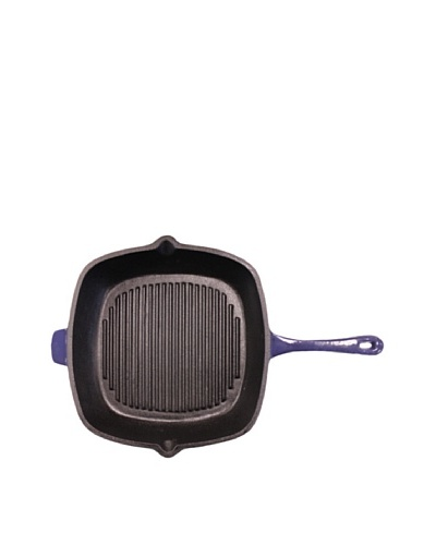 "BergHOFF Neo Cast Iron Grill Pan, Purple, 11""As You See"