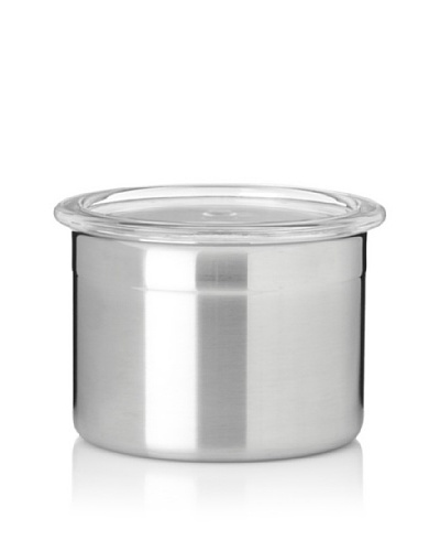 BergHOFF Studio Stainless Steel Canister with Acrylic Lid, 0.5-Qt.