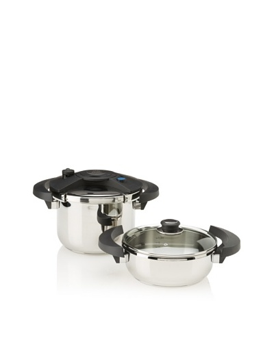 BergHOFF Eclipse 5-Piece Pressure Cooker Set