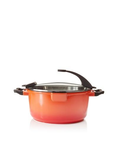BergHOFF Virgo 7.7-Quart Non-Stick Stock Pot, Red