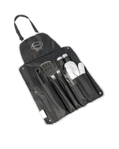 BergHOFF Eclipse 9-Piece BBQ Set, Black