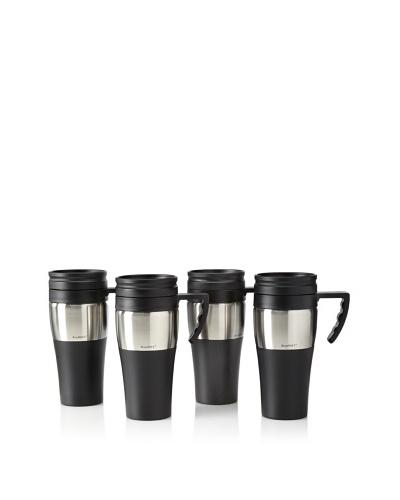 BergHOFF Set of 4 Handled Travel Mugs