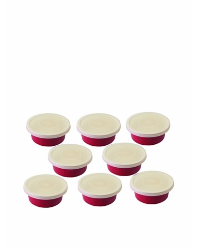 BergHOFF Set of 8 Covered Round Dishes