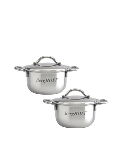 BergHOFF Set of 2 Mini Pots