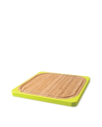 BergHOFF Square Bamboo and Silicone Chopping Board