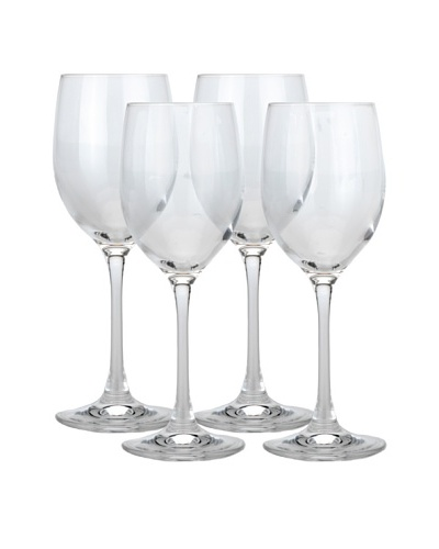 BergHOFF Set of 4 Bistro 8-Oz. White Wine Glasses